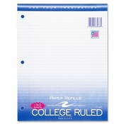Roaring Spring Paper Products Filler Paper,College Ruled,11'x8-1/2',3HP,150 Sh/PK,White Wholesale Bulk