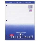 Roaring Spring Paper Products Filler Paper,College Ruled, 200 Sheets- White Wholesale Bulk