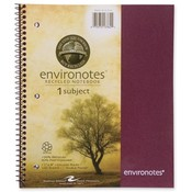 Roaring Spring Paper Products Wirebound Notebook,1-Sub,11'x9',100 SH,Assorted Wholesale Bulk
