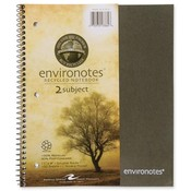 Roaring Spring Paper Products Wirebound Notebook,2-Sub,11'x9',100 SH,Assorted Wholesale Bulk