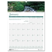 "House of Doolittle  Wall Calendar,""Waterfalls,""12 Months,Jan-Dec,12""x12"""