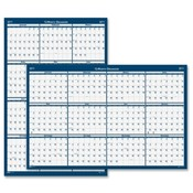 "House of Doolittle  Wall Planner, Laminated, 12 Month, Jan-Dec,18""x24"""