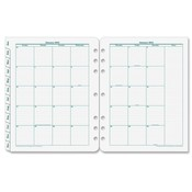 "Franklin Covey  2-Page Monthly Tabs, Jan-Dec, Monarch, 8-1/2""x11"""