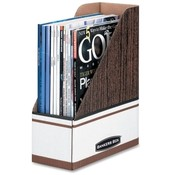 "Fellowes Mfg. Co. Magazine File Holder, 4""x9""x11-1"