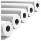 "PM Company Bond Paper, 3"" Core, 20 lb, 92GE, 24""X500', White"