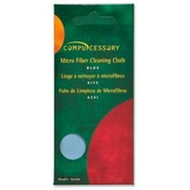 Compucessory Screen Cleaning Wipe, 7-1/2&quot;x7-1/2&quot;, 1 Sachet, Blue