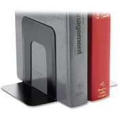 "Business Source  Bookend Supports, Standard, 4-9/10""x5-7/10"" 5-3/10"", Black"