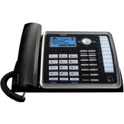 RCA Products Corded Phone, 2-Line W/ Itad, Digital Answering System, BKSR