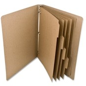 "Rebinder  Index Tab Dividers, 5 Tab, 5 SH/PK, 9""x11"", Kraft"