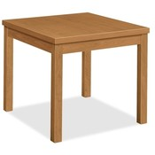 "HON Company Corner Table, Laminate, 24""x24""x20"", Harvest"
