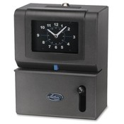 Lathem Time Company Manual Time Clock, Day of Week, Hours, Minute, CHAR