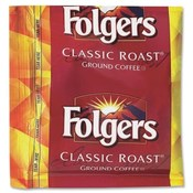 Folgers Foldgers Classic Roast, .9 oz, 36/PK, Dark Brown