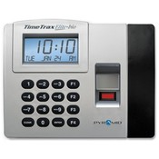 Pyramid Technologies, Inc. Time/Attendance System, Battery Backup Memory, Gray/Black