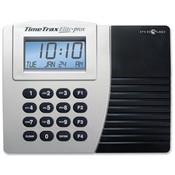 Pyramid Technologies, Inc. Time/Attendance System, w/ 15 Time Cards, Gray/Black