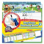 The Board Dudes  Dry-Erase Book, Cursive, 6 Page,