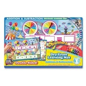 The Board Dudes  Spinner Z Dry-Erase Learning Mat,