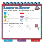 The Board Dudes  Dry-Erase Learning Book, Drawing, Assorted