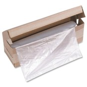 "HSM of America,LLC Shredder Bag, f/HSM Models, 21""x17""x44"", 100BG/RL, Clear"
