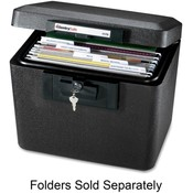 "Sentry Safe Security Fire File, 15-1/4""x12-1/8""x13-9/16"", Black"