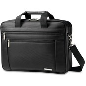 Samsonite Corporation Business Laptop Briefcase, 17-3/4'x4-1/2'x12-1/2', Black Wholesale Bulk