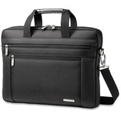 Samsonite Corporation Classic Laptop Slim Briefcase, 16'x2'x12', Black Wholesale Bulk