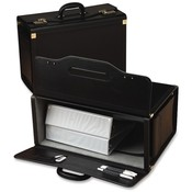 Samsonite Corporation Catalog Case,w/ 2 Brass Combo Lock, 20'x9'x14', Black Wholesale Bulk
