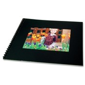 General Binding Corporation Photo Flipbook, 8-1/2'x11', Black Wholesale Bulk