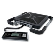 Pelouze Manufacturing Company  Digital Scale, Portable, USB Shipping, 250lb., BK/SR