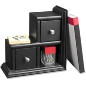 Victor Technologies Reversible Bookend, 9-1/16'x4-3/16'x9-1/16', Black Wholesale Bulk