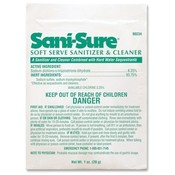 JohnsonDiversey Soft Serve Sanitizer, 28grams, Powder, Chlorine/White