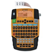 Dymo Corporation Label Maker, Rhino 4200, 10 Char Countline, Orange/Black
