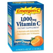 Alacer Corp. Emergen-C, Orange, 10/CT, Multi