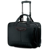 Samsonite Corporation Rolling Laptop Case, Top Loading, 14'x7-1/2'x17-1/2', Black Wholesale Bulk