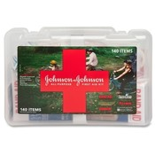 Johnson & Johnson  First Aid Kit, All Purpose, 140
