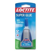 Loctite Corporation  Super Glue Gel Control, No-Drip, .14 oz., Clear