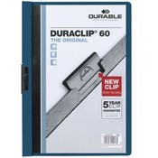 "Durable Office Products Corp.  DuraClip Report Cover, 60 Sheet Capacity, 11""x8-1/2"",Navy"