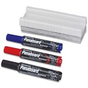 Panasonic Marker/Erasers, 3/PK, Assorted