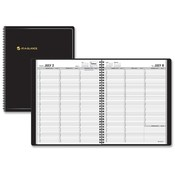 "At-A-Glance  Weekly Appointment Book,14 Month Jul-Aug,8-1/4""x10-7/8"",BK"