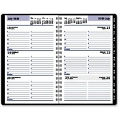 At-A-Glance  Weekly Appt Bk, 12 Months Jan-Dec, 4-7/8&quot;x8&quot;, Black