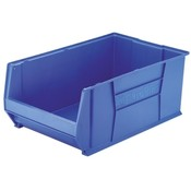 "Akro-Mils  Super-Size Storage Bin, Stackable, 18-1/2""x29-1/4""x12"", BE"