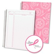 "Esselte Pendaflex Corporation Project Planner, 9-1/2""x7-1/4"", 84 Sheets, Pastel Pink"