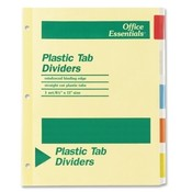 Avery Consumer Products  Economy Insertable Dividers, 5 Tabs, Multicolor