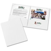 Avery Consumer Products 2-Pocket Folder, Ltr, 20 Sht Cap., 10/PK, White Wholesale Bulk