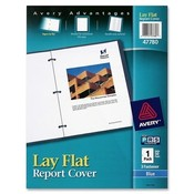 Avery Consumer Products Report Cover, Polypropylene, Letter, 24/BX, Blue Wholesale Bulk