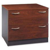 "Bush Industries 2-Drawer Lateral File, 35-3/4""x23-3/8""x29-7/8"",Hansen Cherry"