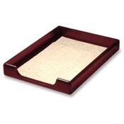 Rolodex Corporation Wood Tray, Legal, Front Loading, Mahogany Wholesale Bulk