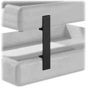 Rolodex Corporation Stacking Supports, For Letter/Legal Trays, Black Wholesale Bulk