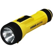 Energizer Industrial Flashlight, Uses D Cell Batteries, Yellow