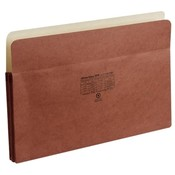 Globe Weis Redrope Pocket File, Legal, 1-3/4' Expansion Wholesale Bulk