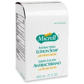GOJO Industries Lotion Soap, Micrell, Antibacterial, 800ml, Golden